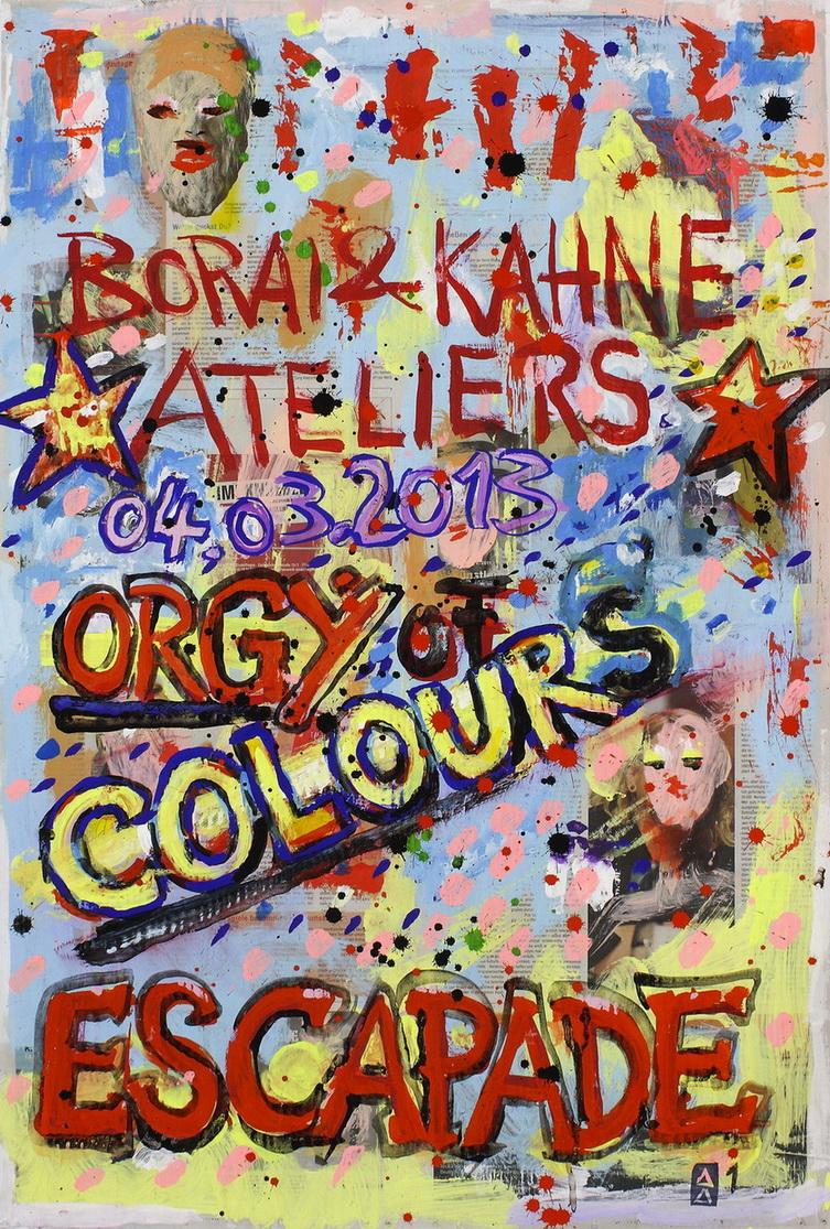 Orgy of Colours - Escapade - 01